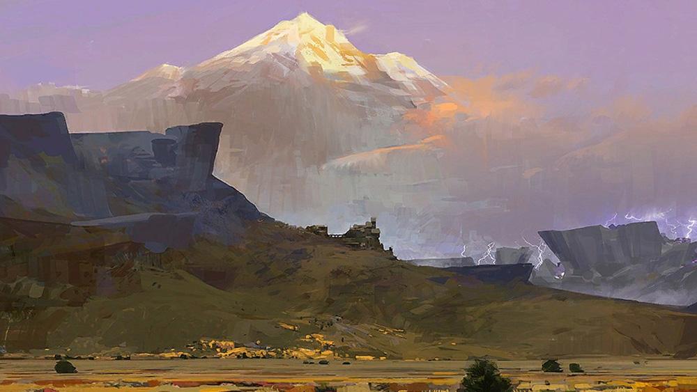 Hautes-terres du désert