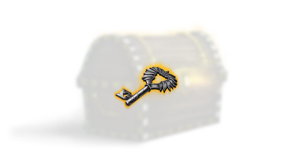 Clé de coffre du Lion noir