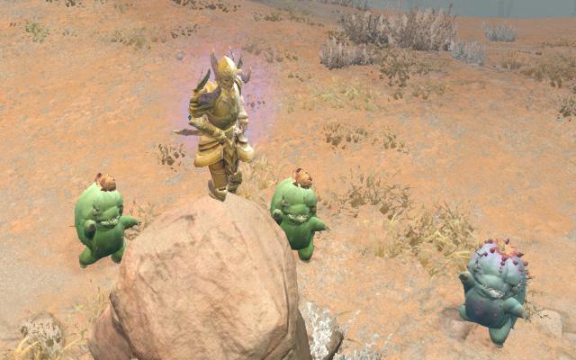 Danse avec les cactus