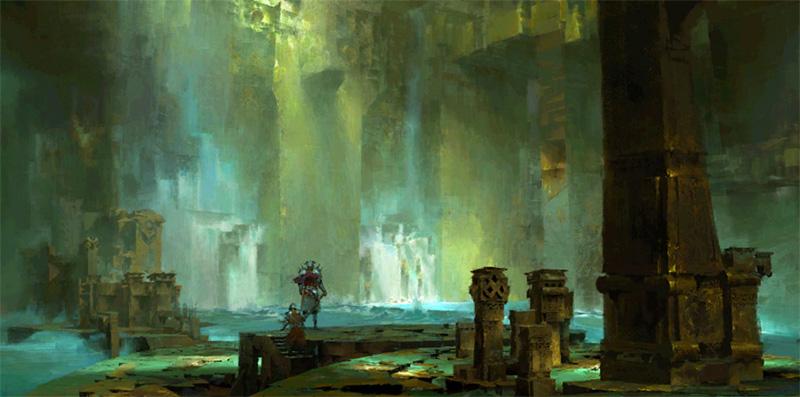 Caverne dorée