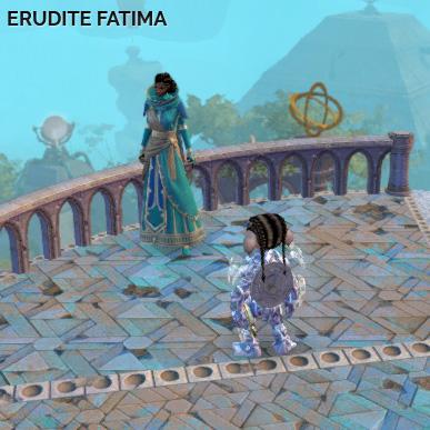 Erudite Fatima