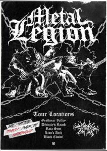 Groupe métal Metal Legion