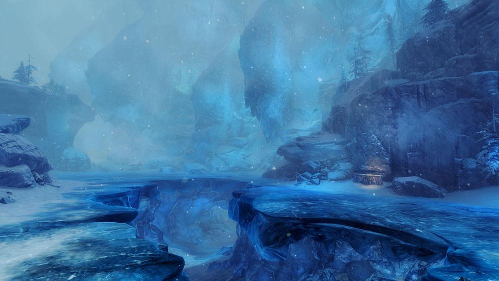 Une ombre dans la glace
