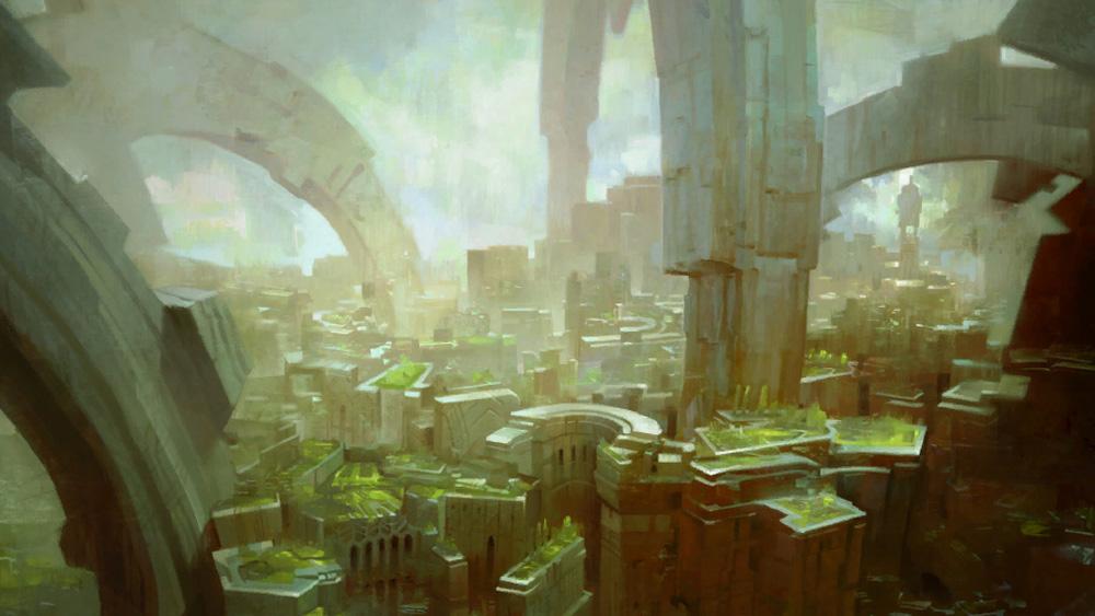 Cité en ruine d'Arah